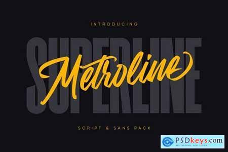 Metroline Script & Sans Pack 4452542