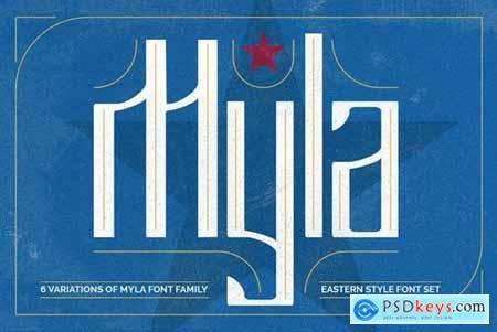 Myla Font 4448050