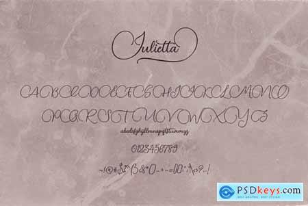 Julietta Script Font 4449898