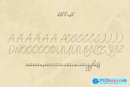Highsoul Script Font 4453745