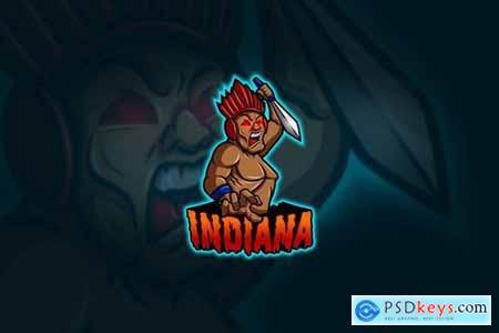 Indiana - Mascot & Esport Logo