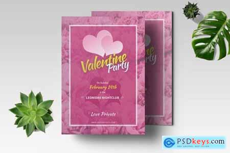 Valentine Flyer Template 02