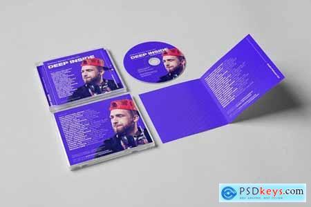DJ Mix Podcast Album CD Cover Artwork Template