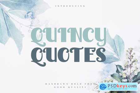 Quincy Quotes - Decorative Valentine Sans