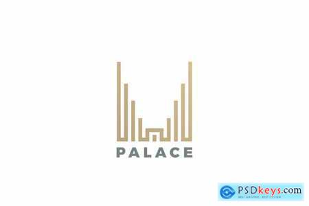 Logo Real Estate Palace Skyscrapers