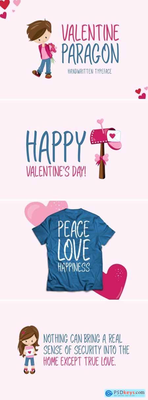 Valentine Paragon Font