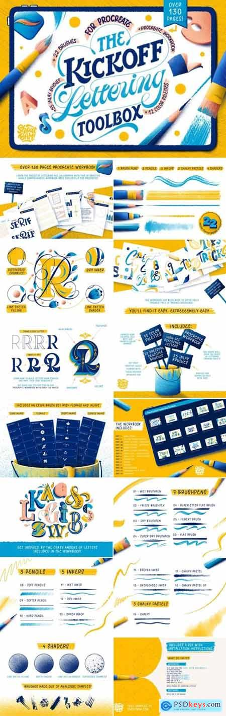 The KickOff Lettering Toolbox 4357660