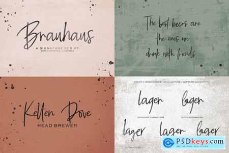 The Chic Handwriting Font Bundle 4505034