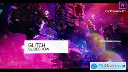 Glitch Slideshow for Premiere Pro 25692502
