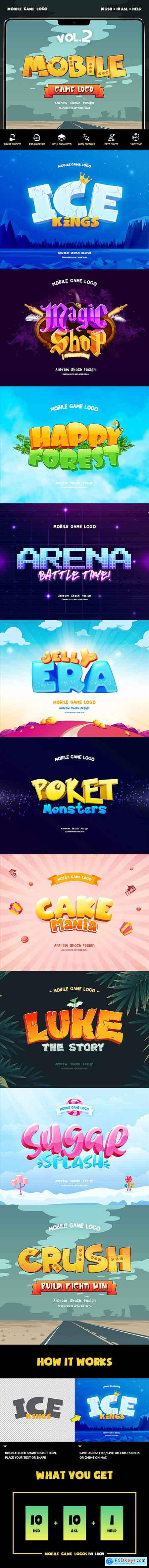 Mobile Game Text Effects vol 2 23439241