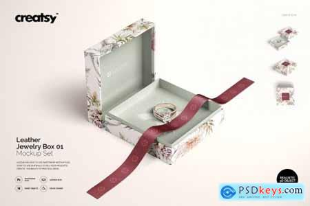Jewelry Box Mockup Set 01 4392039
