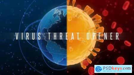 Videohive Coronavirus Threat Opener 25693552