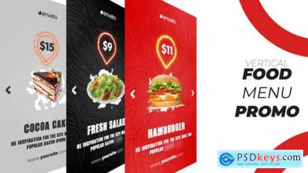 Videohive Food Menu Promo (Vertical) 25694796
