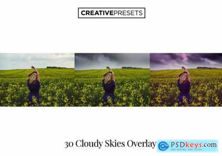 Cloudy Sky Overlays