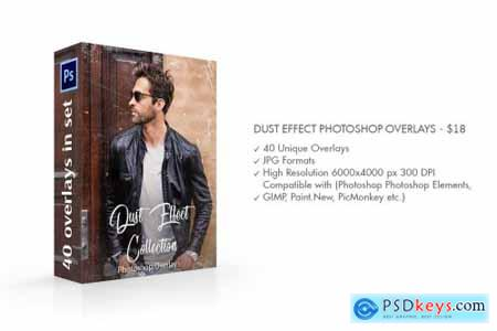 Dust Effect Photoshop Overlay 3707709