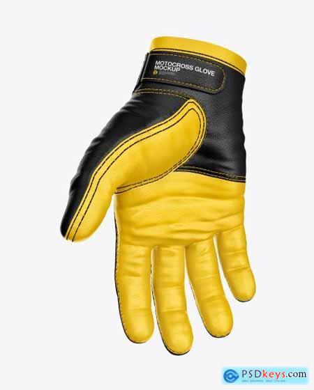 Motocross Glove Mockup 55246