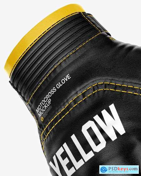Motocross Gloves Mockup 55295