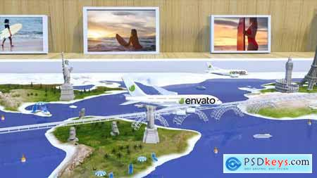 Videohive Travel With Us Airlines 23192086