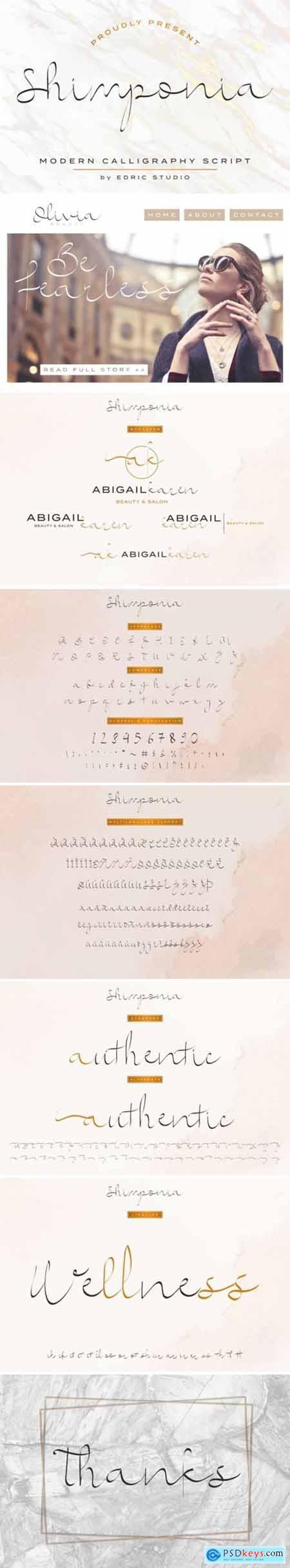 Shimponia Font