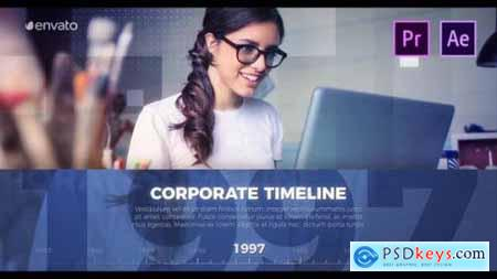 Videohive Corporate Timeline Presentation 25682065