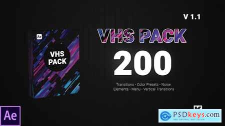 Videohive VHS PACK V1.1 24750066
