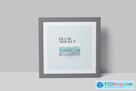 Rectangle & Square Artwork Frame Mockup Set