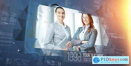 Videohive Corporate Timeline 18996870