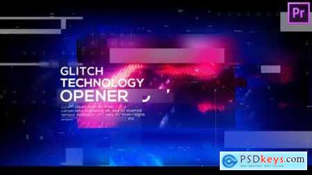 Technology Glitch Opener for Premiere Pro 25717358