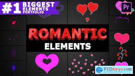 Romantic Elements Premiere Pro MOGRT 25714413