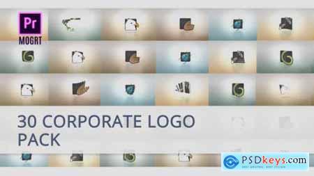 30 Corporate Logo for Premiere Pro 25717375