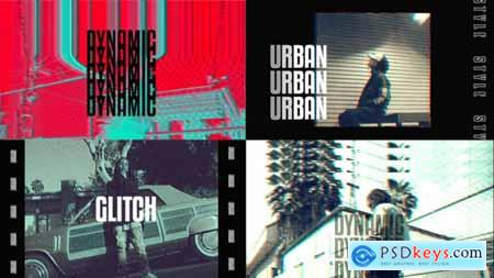 Videohive VHS Urban Opener 25721725