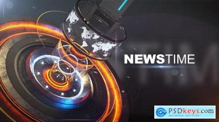 News Time Broadcast Opener 24973737