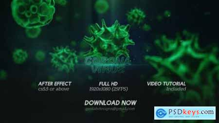 Corona Virus Titles l Virus Opener l Medical Template l Healthcare Presentation 25700400