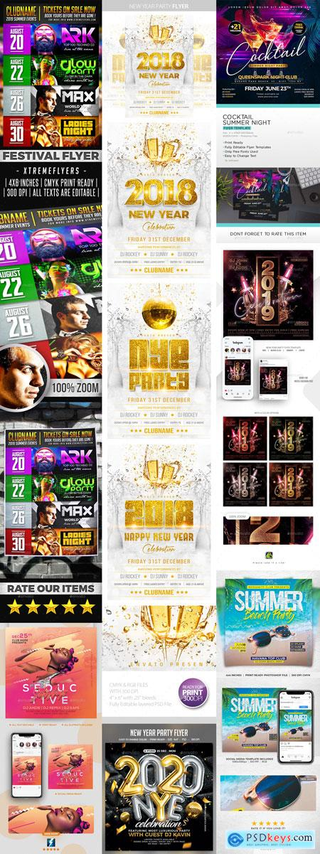 Flyer Template Vip New Year Part 5 12-FEB-2020