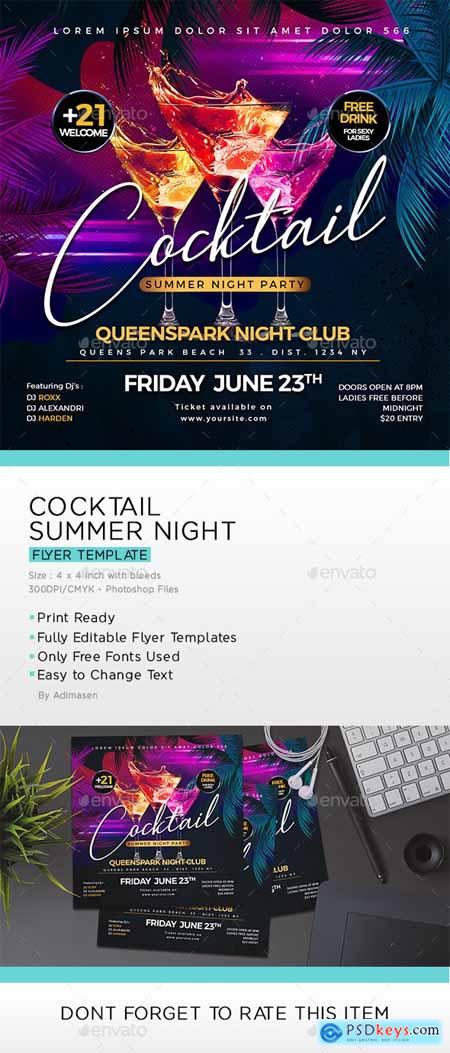 Cocktail Party Flyer 24102570
