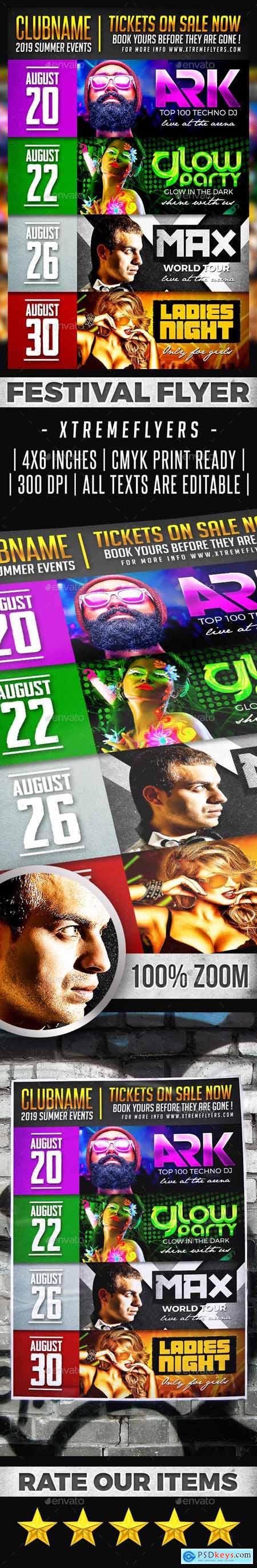 Festival Schedule Flyer 23788912