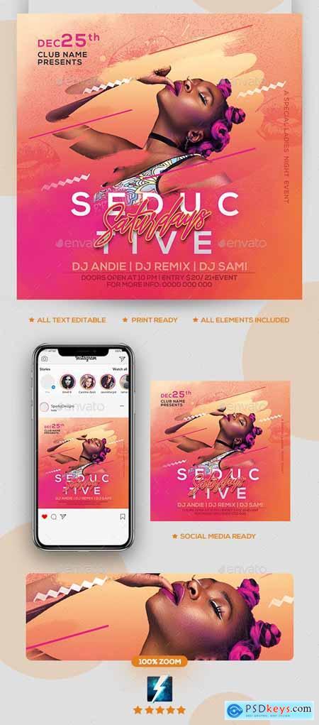 Night Club Party Flyer 24402738