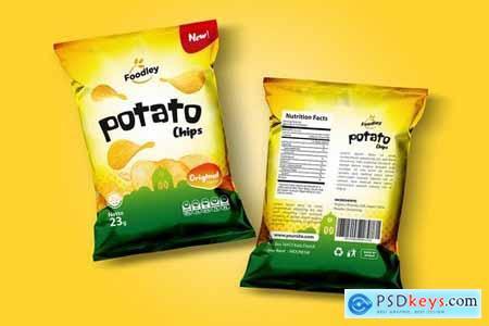 Clean Snack Packaging Template