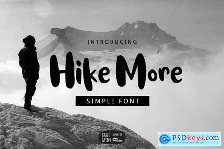 Hike More Font