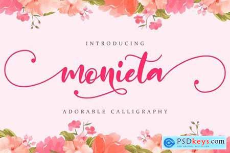 Monieta - Adorable Script