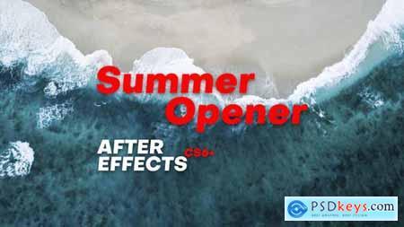Videohive Summer Opener 23601845