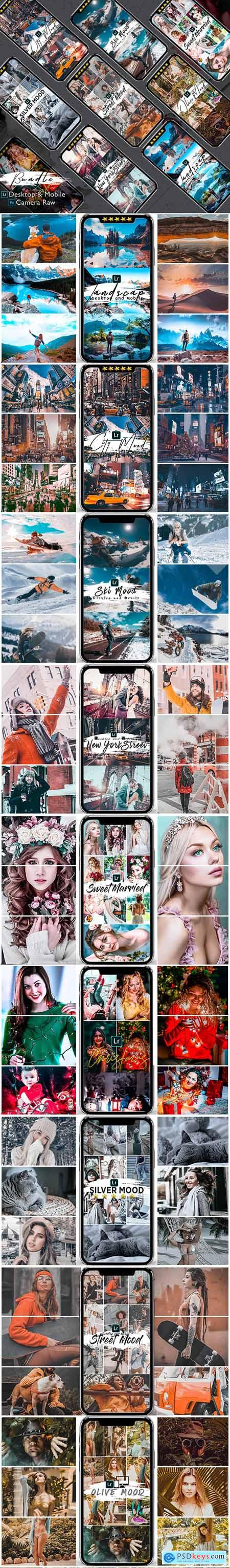 Bundle 82 Presets Lightroom Desktop & Mobile 25594584