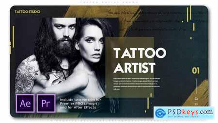 Tattoo Artist Promo 25719621