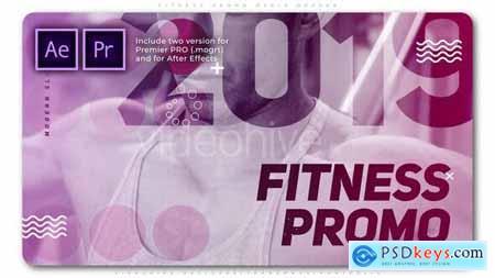 Fitness Promo Media Opener 25719599