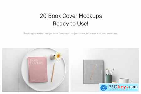 Book Cover Mockups - Hardcover Book 4531288
