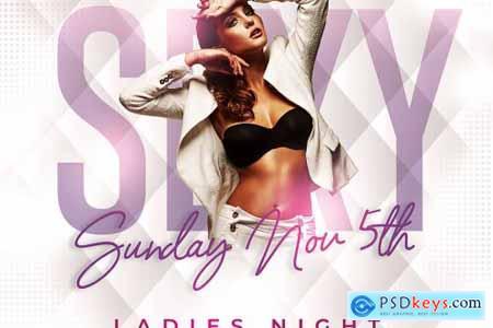 Ladies Night Party Flyer 4560309