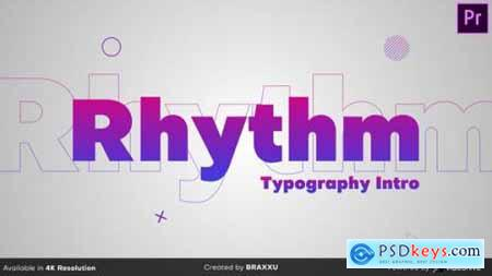 Rhythm Typography Intro 25022339