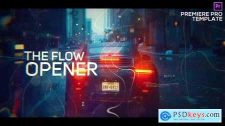 Digital Flow Modern Opener for Premiere Pro 25728663