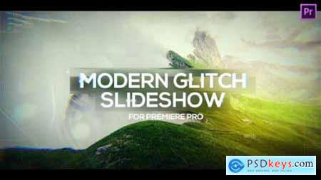 Modern Glitch Slideshow for Premiere Pro 25730594