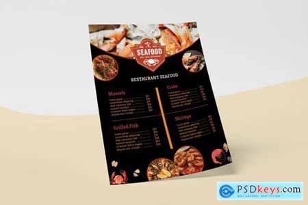 Seafood Restaurant Menu List